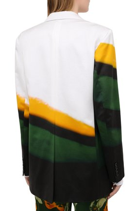 Женский хлопковый жакет DRIES VAN NOTEN разноцветного цвета, арт. 211-30416-2143 | Фото 4