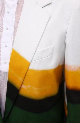 Женский хлопковый жакет DRIES VAN NOTEN разноцветного цвета, арт. 211-30416-2143 | Фото 5