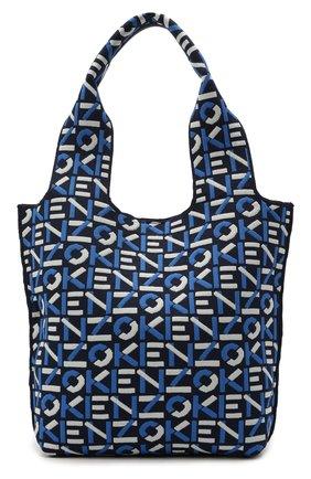 Женский сумка skuba kenzo sport KENZO синего цвета, арт. FA62SA521F10   Фото 1