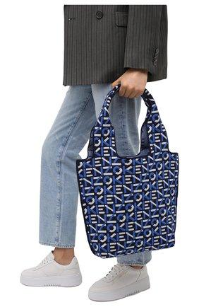 Женский сумка skuba kenzo sport KENZO синего цвета, арт. FA62SA521F10   Фото 2
