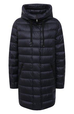 Женский пуховая куртка MONCLER темно-синего цвета, арт. G1-093-1B559-00-5396Q | Фото 1