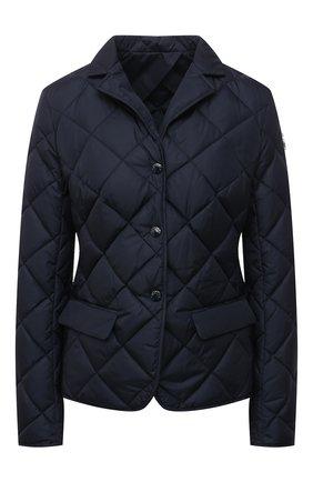 Женская пуховая куртка MONCLER темно-синего цвета, арт. G1-093-1A52Y-00-539YH | Фото 1