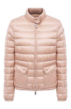 Женский пуховая куртка MONCLER розового цвета, арт. G1-093-1A101-00-53048 | Фото 1