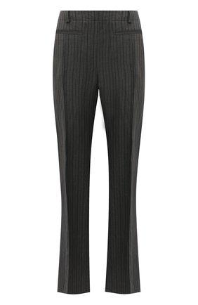 Женские брюки из льна и вискозы ACNE STUDIOS серого цвета, арт. AK0376 | Фото 1