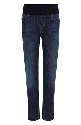 Женские джинсы PIETRO BRUNELLI темно-синего цвета, арт. JP0044/DE0001 | Фото 1