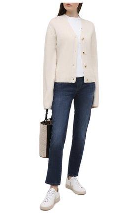 Женские джинсы PIETRO BRUNELLI темно-синего цвета, арт. JP0044/DE0001 | Фото 2