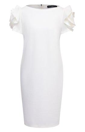 Женское платье PIETRO BRUNELLI белого цвета, арт. AG0343/VIU718 | Фото 1