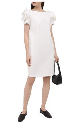 Женское платье PIETRO BRUNELLI белого цвета, арт. AG0343/VIU718 | Фото 2