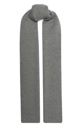 Мужской шерстяной шарф civil CANOE светло-серого цвета, арт. 4805872 | Фото 1