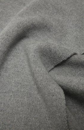 Мужской шерстяной шарф civil CANOE светло-серого цвета, арт. 4805872 | Фото 2