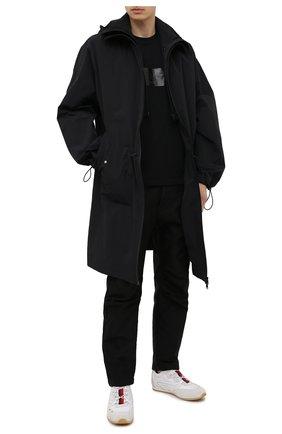 Мужские кроссовки seventy 2 moncler 1952 MONCLER GENIUS белого цвета, арт. G1-092-4M703-00-02SMZ | Фото 2 (Материал внутренний: Текстиль; Стили: Гранж; Подошва: Плоская)