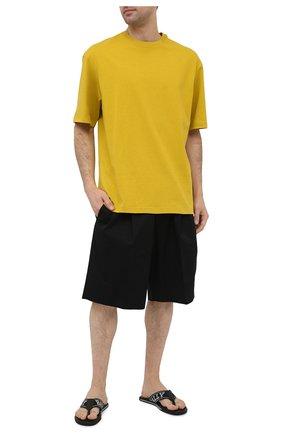 Мужские текстильные шлепанцы border BALLY черного цвета, арт. B0RDER-T/200 | Фото 2