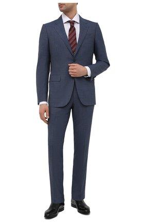 Мужские кожаные оксфорды lizzar BALLY черного цвета, арт. LIZZAR/30 | Фото 2 (Материал внутренний: Натуральная кожа; Стили: Классический)