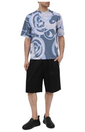 Мужские кожаные слипоны mardy BALLY черного цвета, арт. MARDY/00 | Фото 2 (Материал внутренний: Текстиль, Натуральная кожа; Стили: Кэжуэл)