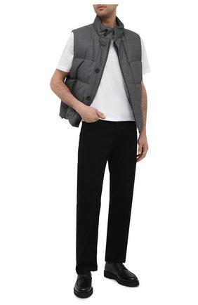 Мужские кожаные дерби norber BALLY черного цвета, арт. N0RBER/50 | Фото 2 (Материал внутренний: Натуральная кожа; Стили: Классический)