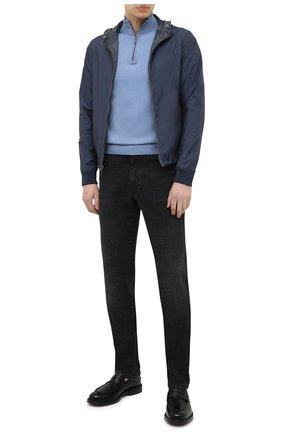 Мужские кожаные пенни-лоферы nitus BALLY черного цвета, арт. NITUS/40 | Фото 2 (Материал внутренний: Натуральная кожа; Мужское Кросс-КТ: Лоферы-обувь; Стили: Кэжуэл)