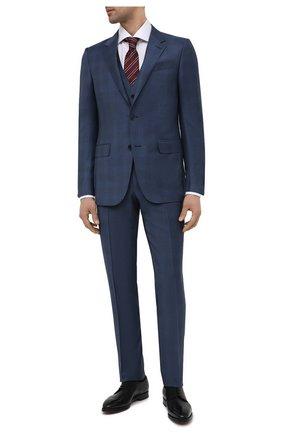 Мужские кожаные дерби scamardo BALLY черного цвета, арт. SCAMARD0/600 | Фото 2 (Материал внутренний: Натуральная кожа; Стили: Классический)