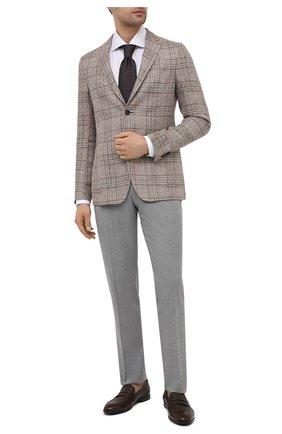 Мужские кожаные пенни-лоферы webb BALLY темно-коричневого цвета, арт. WEBB-U/502 | Фото 2 (Материал внутренний: Натуральная кожа; Стили: Классический; Мужское Кросс-КТ: Лоферы-обувь)