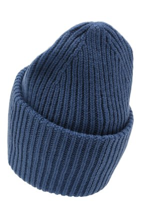 Мужская шерстяная шапка ACNE STUDIOS голубого цвета, арт. C40140/M | Фото 2