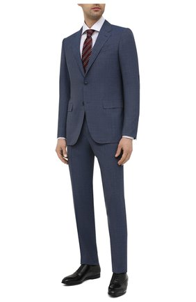 Мужской шерстяной костюм ERMENEGILDO ZEGNA синего цвета, арт. 922530/221225 | Фото 1