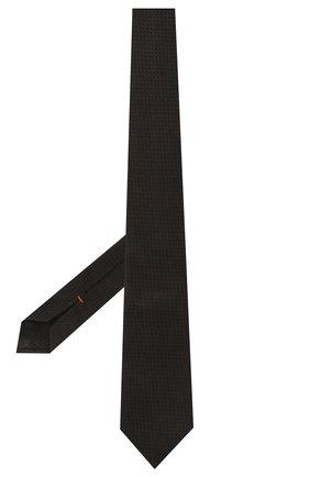 Мужской шелковый галстук ZEGNA COUTURE коричневого цвета, арт. Z9C00/15C | Фото 2