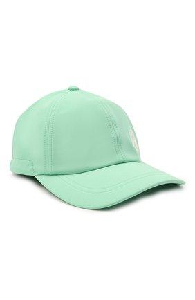 Мужской бейсболка STONE ISLAND зеленого цвета, арт. 741599227 | Фото 1