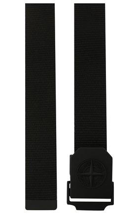 Мужской ремень STONE ISLAND черного цвета, арт. 741594071   Фото 2