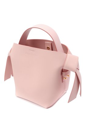 Женская сумка musubi mini ACNE STUDIOS розового цвета, арт. A10093   Фото 4