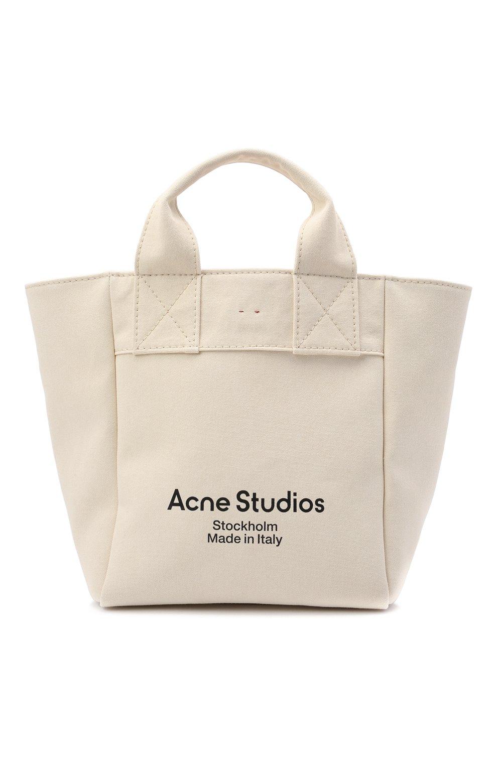 Женский сумка-шопер ACNE STUDIOS бежевого цвета, арт. C10057/W | Фото 1