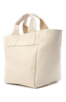 Женский сумка-шопер ACNE STUDIOS бежевого цвета, арт. C10057/W | Фото 3