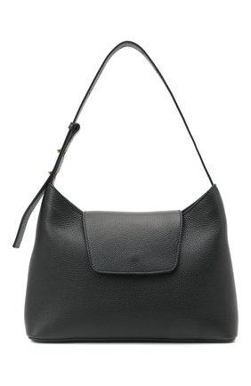Женская сумка kitten ELLEME черного цвета, арт. KITTEN/PEBBLE LEATHER | Фото 1