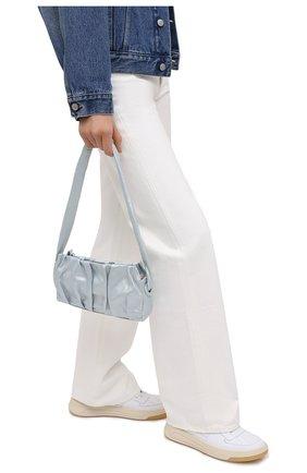 Женская сумка vague small ELLEME голубого цвета, арт. VAGUE/PEARL LEATHER | Фото 2