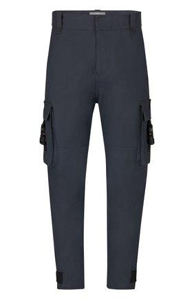 Мужские брюки-карго DIOR черного цвета, арт. 933C114A4530C900   Фото 1