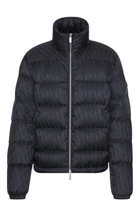 Мужская пуховая куртка DIOR черного цвета, арт. 943C449A4462C989   Фото 1