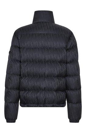 Мужская пуховая куртка DIOR черного цвета, арт. 943C449A4462C989   Фото 2