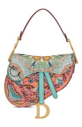Женская сумка saddle DIOR разноцветного цвета, арт. M0446CLPRM884   Фото 1
