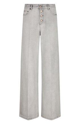 Женские джинсы DIOR светло-серого цвета, арт. 112P22A3333X8285   Фото 1