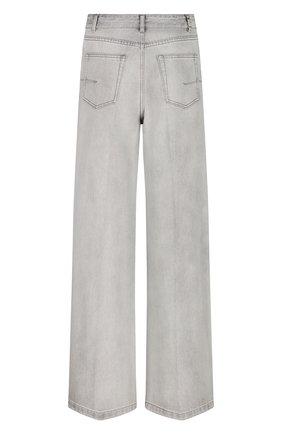Женские джинсы DIOR светло-серого цвета, арт. 112P22A3333X8285   Фото 2
