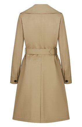 Женское пальто DIOR бежевого цвета, арт. 117M10A3905X1320   Фото 2