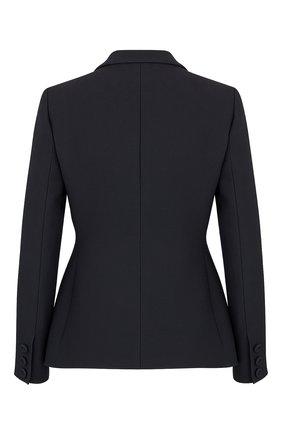 Женский жакет из шерсти и шелка DIOR черного цвета, арт. 841V01A1166X9000   Фото 2