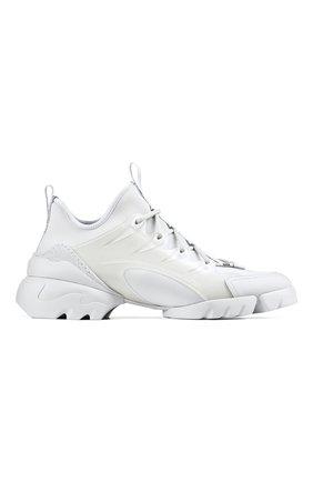 Женские комбинированные кроссовки d-connect DIOR белого цвета, арт. KCK222NGGS10W | Фото 1 (Материал внешний: Текстиль)