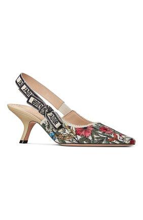 Женские текстильные туфли j'adior DIOR разноцветного цвета, арт. KCP888MLES89Z   Фото 2