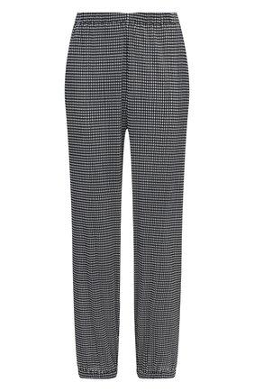 Женские брюки GIORGIO ARMANI черно-белого цвета, арт. 3KAP52/AJBSZ | Фото 1