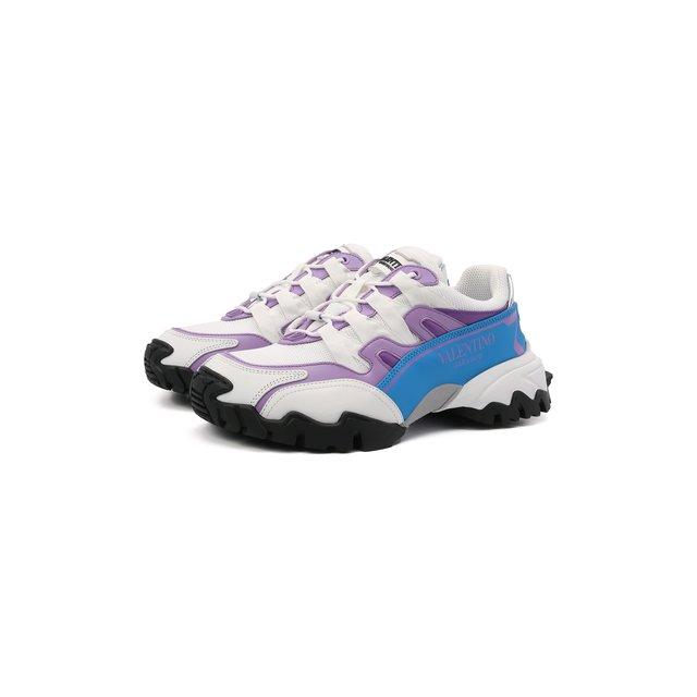 Текстильные кроссовки Climbers Valentino