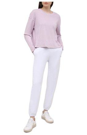 Женский хлопковый свитшот JAMES PERSE розового цвета, арт. WXA3318 | Фото 2