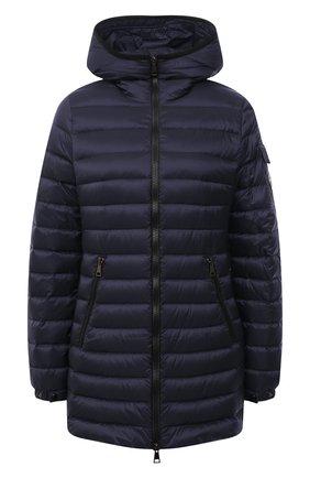 Женский пуховая куртка MONCLER темно-синего цвета, арт. G1-093-1B113-00-5396Q | Фото 1