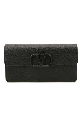 Женская сумка vsling VALENTINO черного цвета, арт. VW2P0S93/RQR | Фото 1