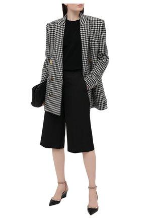 Женские кожаные туфли rockstud VALENTINO черного цвета, арт. VW2S0BC5/V0D   Фото 2