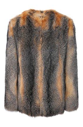 Шуба из меха лисы | Фото №1