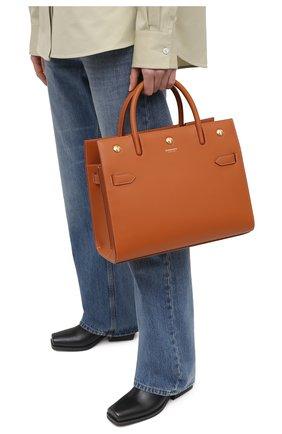 Женская сумка title BURBERRY коричневого цвета, арт. 8037651 | Фото 2